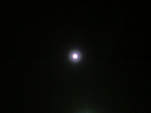 まんまるお月様とローズクォーツ